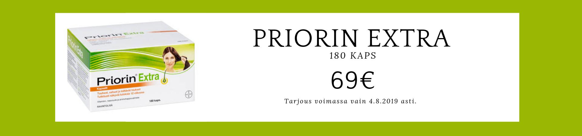 Priorin 69€ 28.7.-4.8.