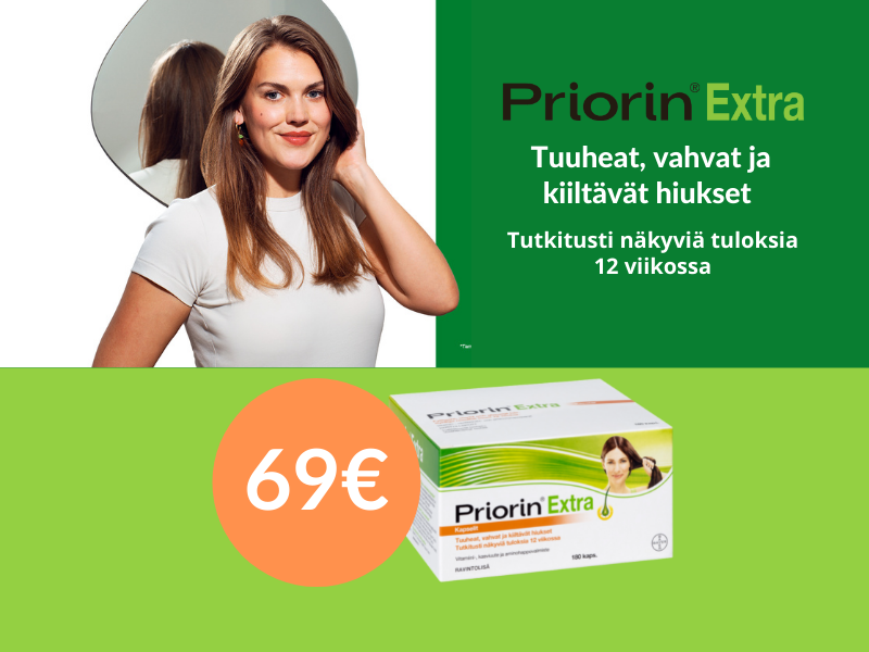 Priorin extra 69€/180kaps.
