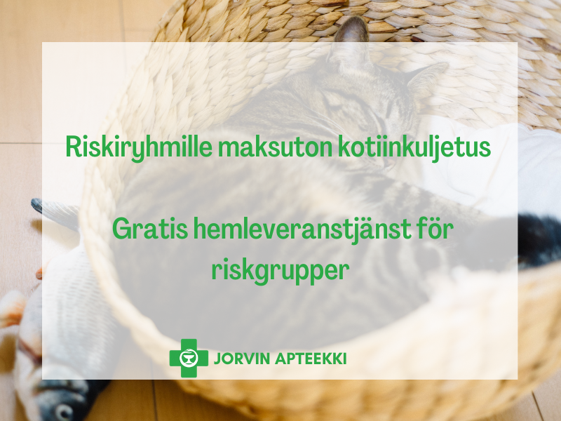 Jorvin Apteekki Kotiinkuljetus