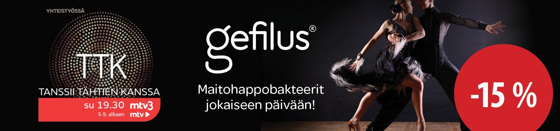 Gefilus maitohappobakteerit