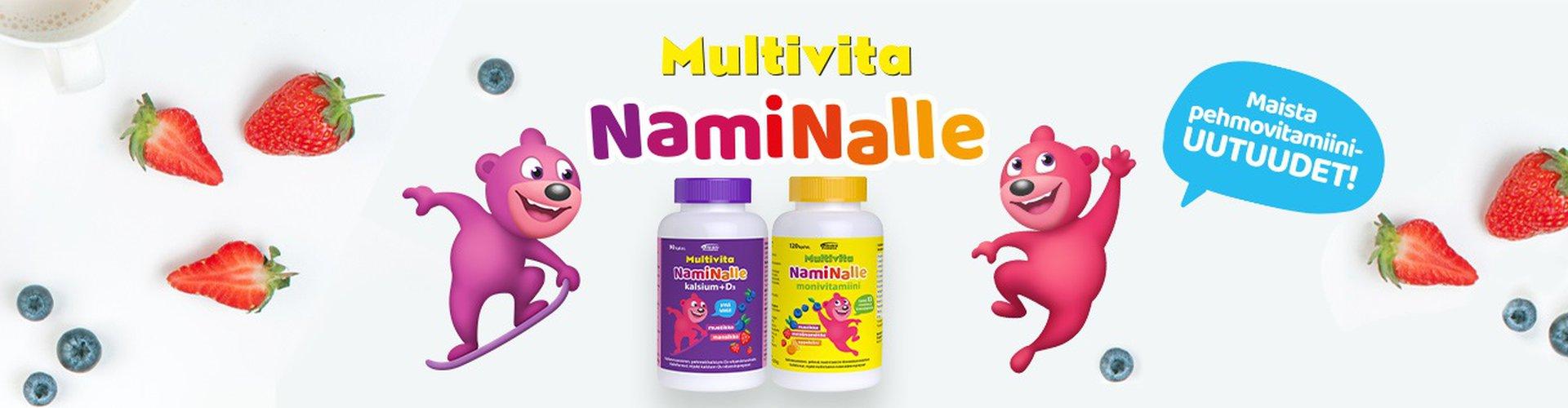 Lasten vitamiinivalmiste naminalle kuin nallekarkki