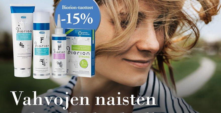 Suomessa valmistettu hiustenhoitotuote. Lisää elinvoimaa ja kiiltoa hiuksille.