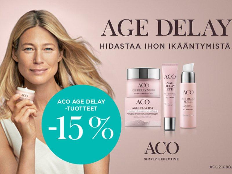 ACO Face Age Delay -15%