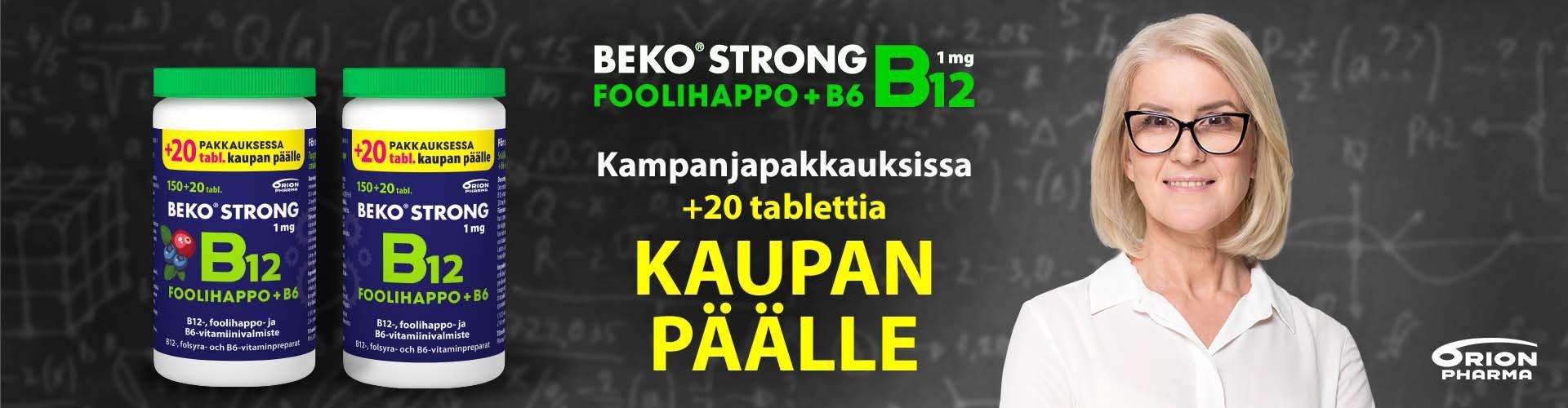 Beko Strong kampanjapakkaus