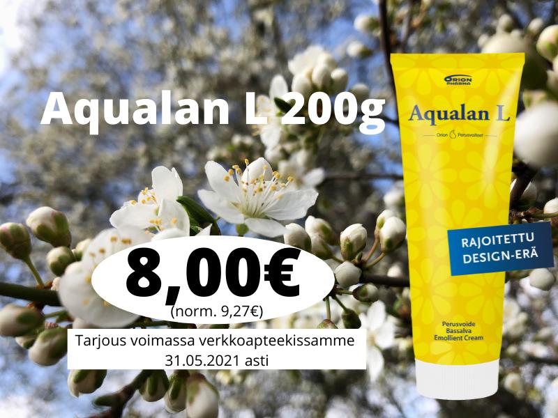 Aualan L 200g summer rajoitettu erä kesä 2021 tarjous