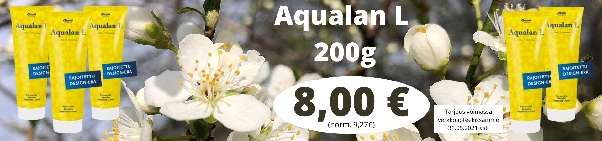 Aqualan L 200g summer rajoitettu erä kesä 2021 tarjous