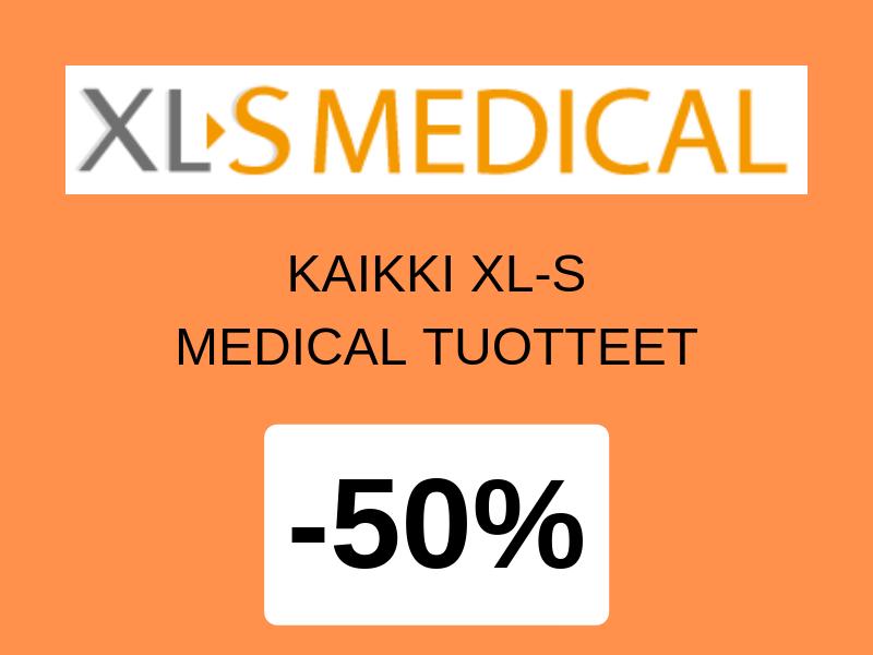 Kaikki XL-S tuotteet -50% alennuksella , alennus