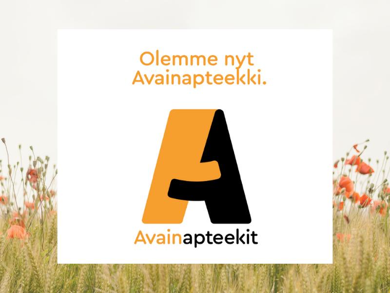 Kuulumme Avainapteekit -ketjuun. Liity Avainasiakkaaksi painamalla bannerista!