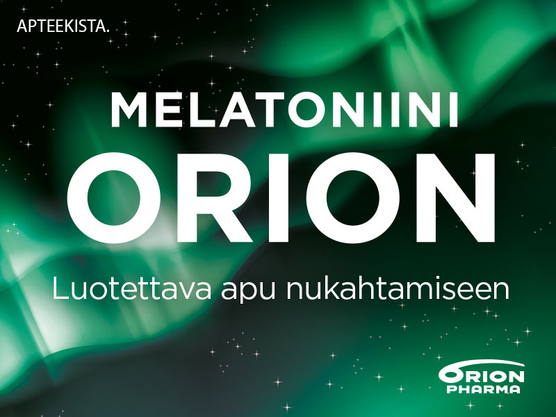 Melatoniini Orion 1,9mg tarjous