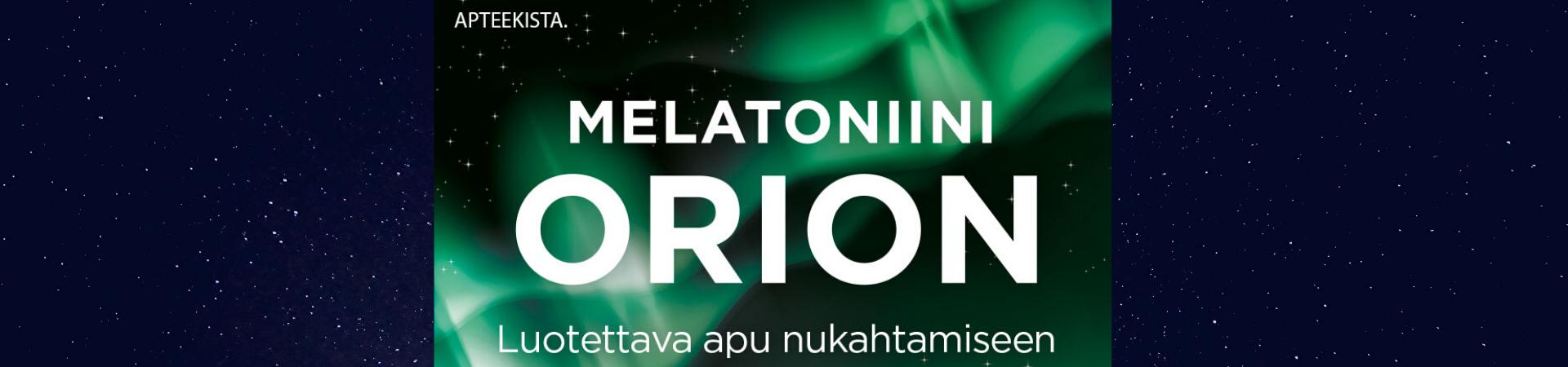 Melatonin Orion Pitkävaikutteinen 1,9mg 90 tabl tarjous tarjouksessa