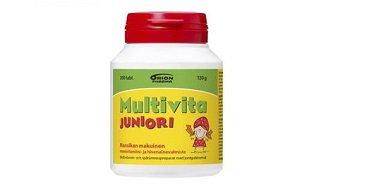 multivitamiini lapsille