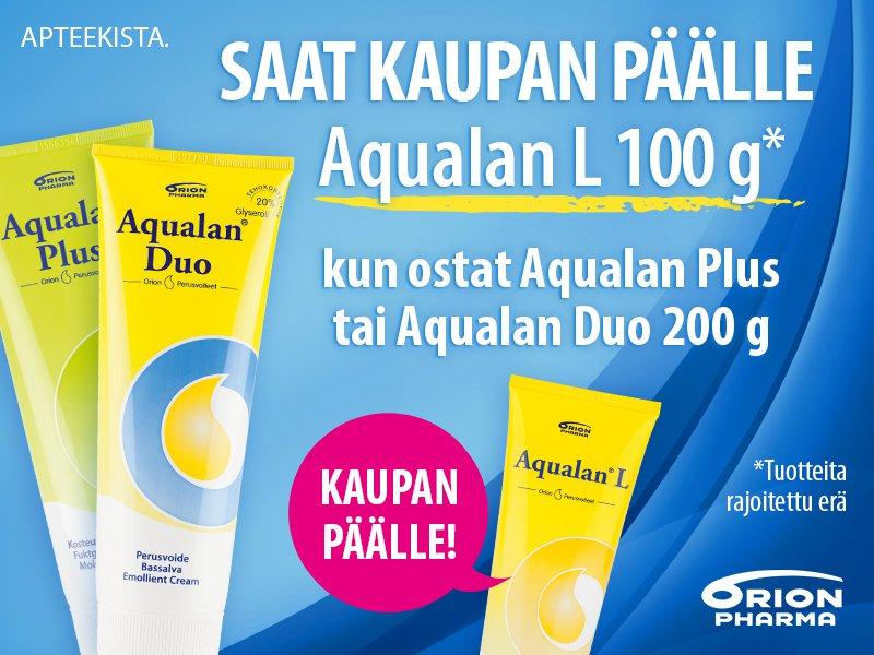 Aqualan duo ja plus, aqualan l kaupan päälle