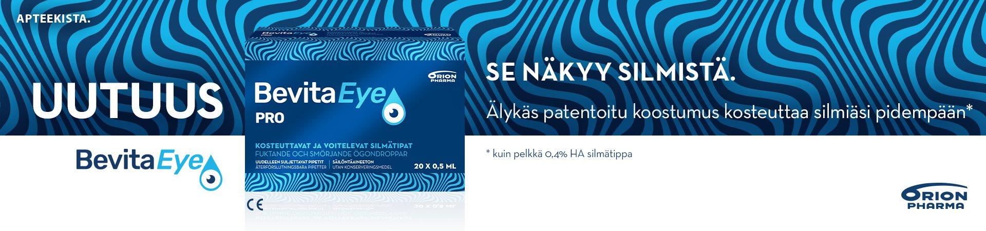 Bevita Eye Pro kuiville silmille