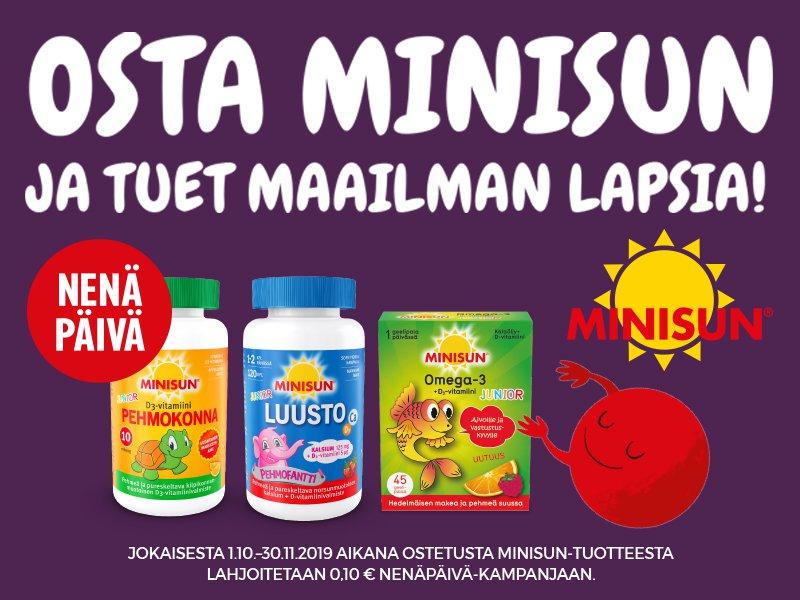 Osta Minisun ja tuet maailman lapsia, Nenäpäivä