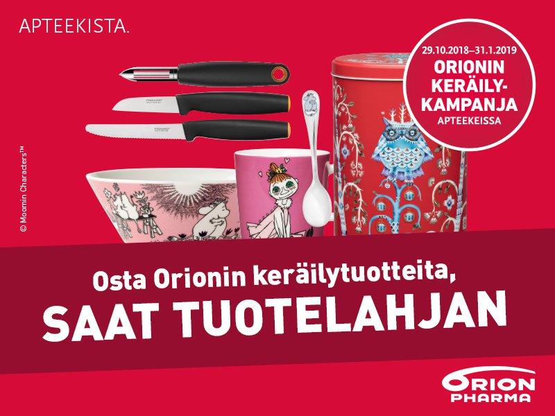 Orionin keräilykampanja