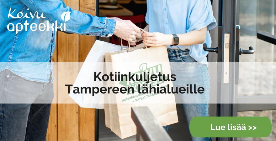 Kotiinkuljetus Tampereen lähialueille