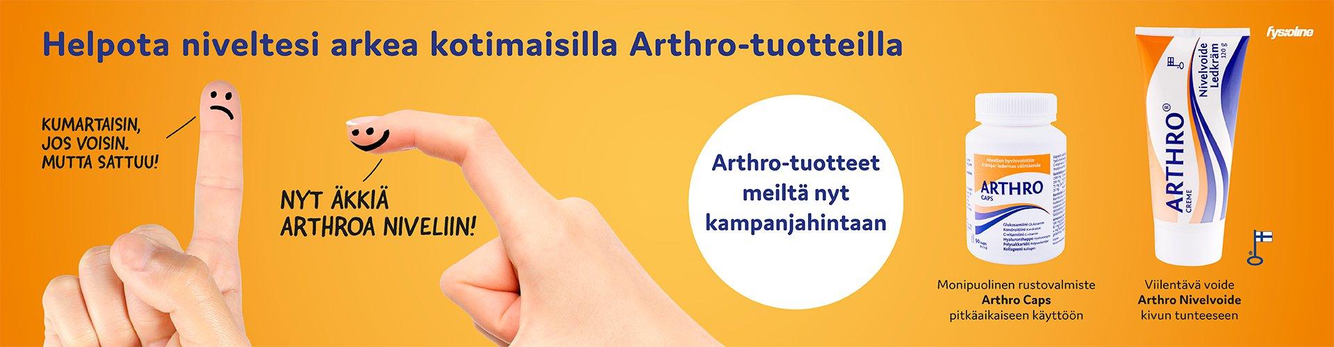 ARTHRO TUOTTEET -15%