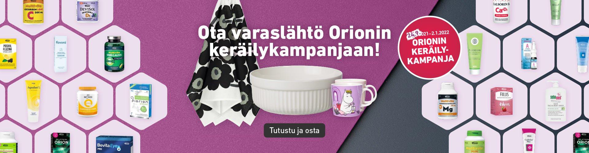 Orionin keräilykampanja Koivu pteekissa