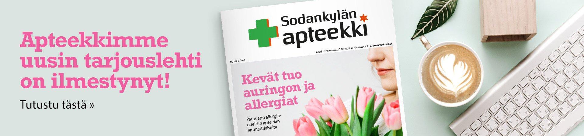 Huhti-toukokuun Terveyslehti