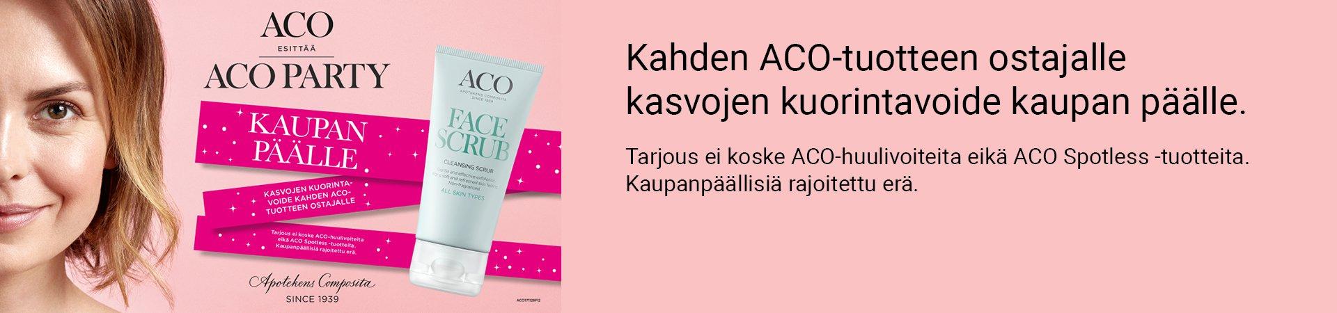 ACO party verkkoapteekki tarjous