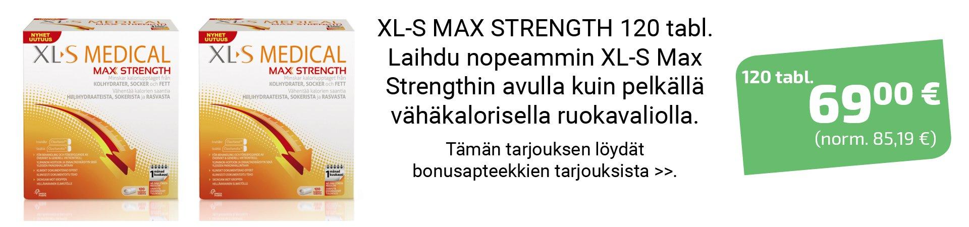 xl-s medical max strength tarjous