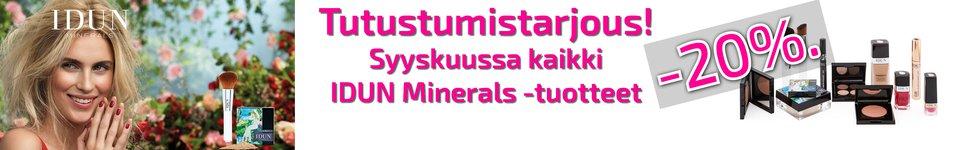 Idun minerals verkkoapteekki tarjous kosmetiikka
