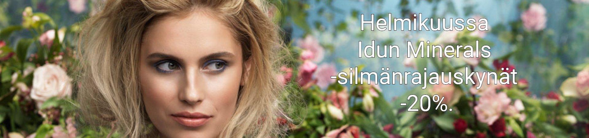 verkkoapteekki Idun Minerals tarjous kosmetiikka