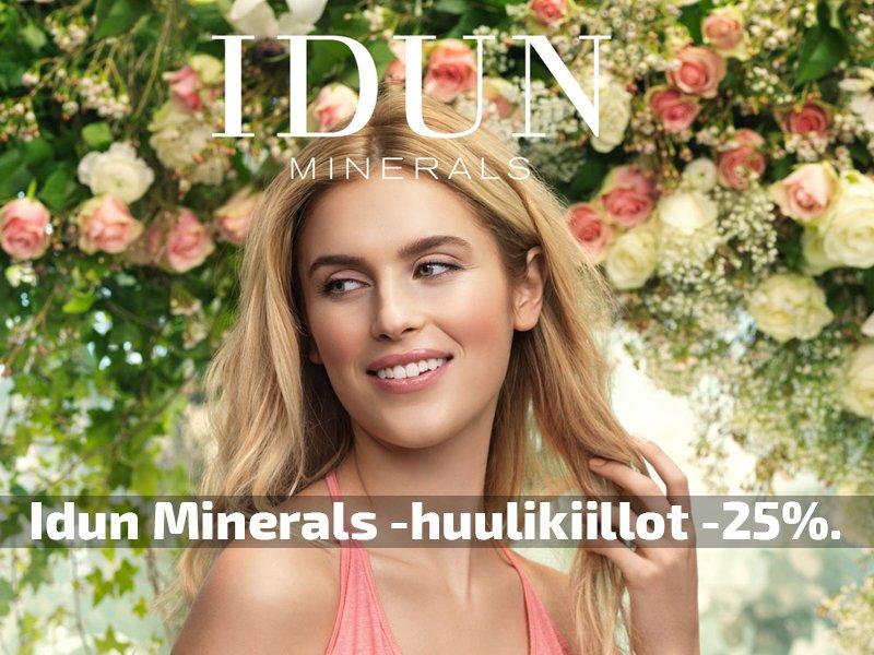 Idun Minerals tarjous kosmetiikka