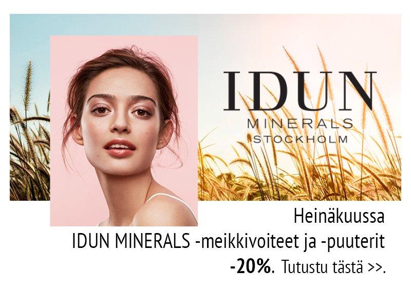 verkkoapteekki nettiapteekki Idun Minerals tarjous kosmetiikka