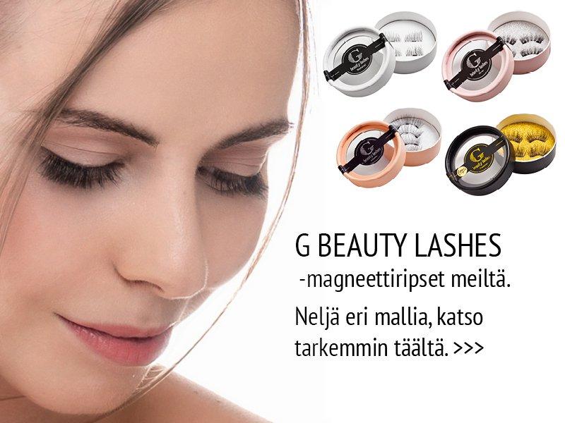 g beauty lashes magneettiripset verkkokauppa
