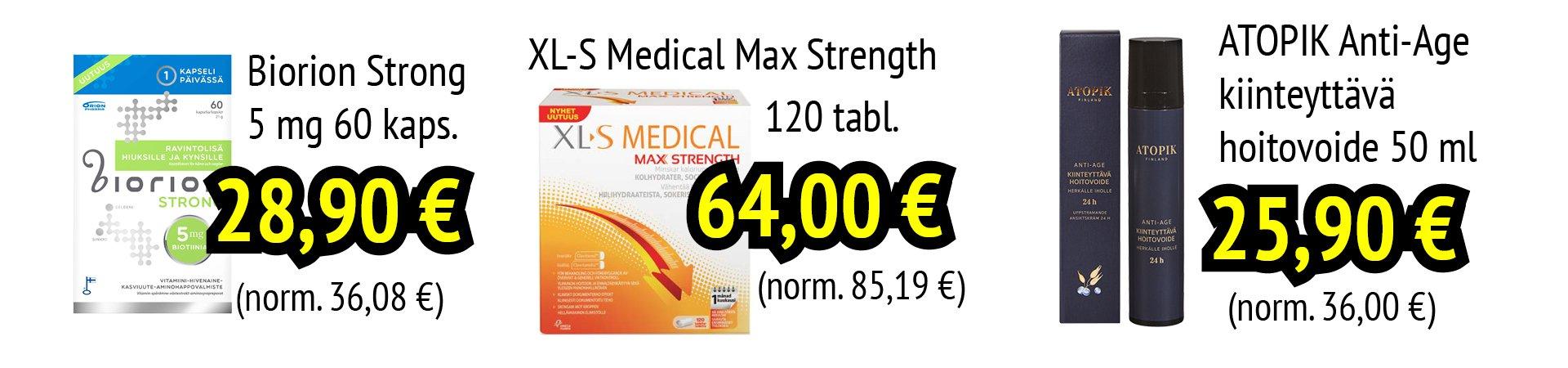 verkkoapteekki xl-s medical tarjous