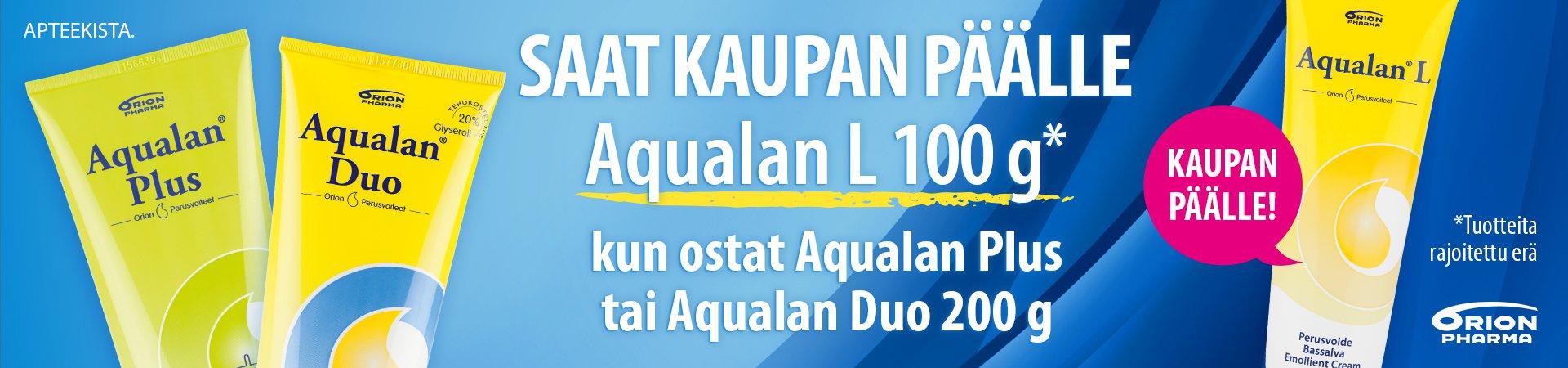 verkkoapteekki perusvoide aqualan tarjous orion