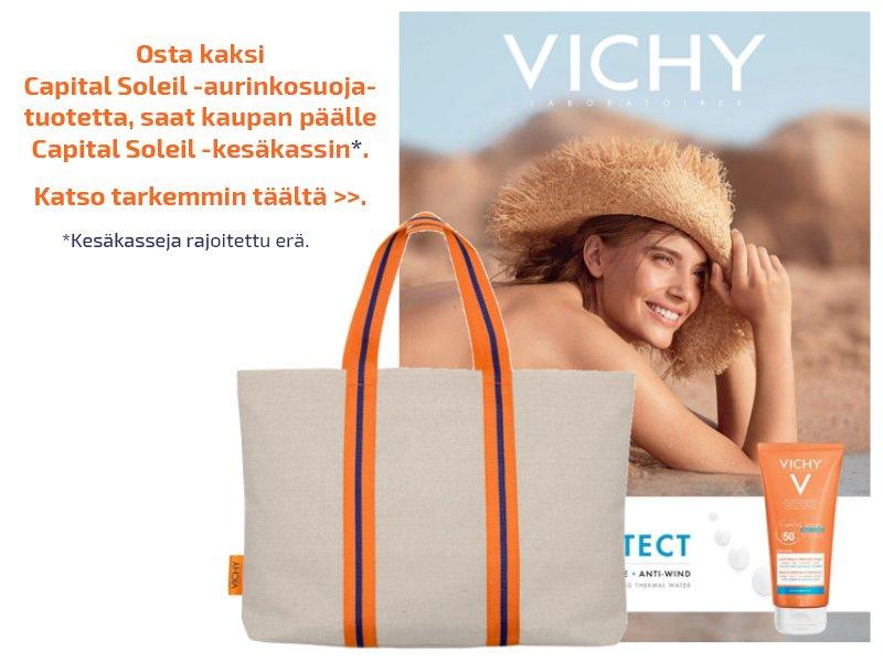 verkkoapteekki nettiapteekki vichy tarjous kosmetiikka kauppakeskus kaari