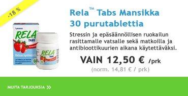 Rela-Tabs Mansikka