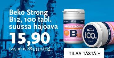Beko Strong 100 tabl. suussa hajoava