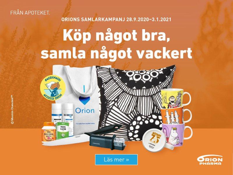 orion produkter samlarkampanj höst