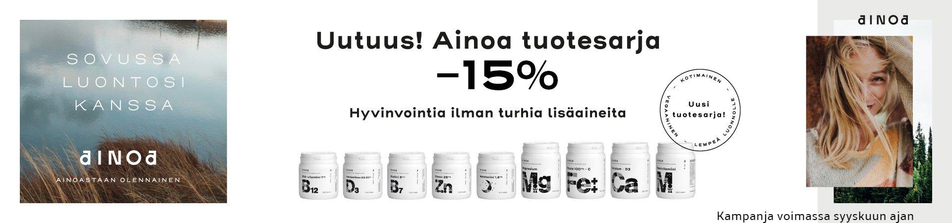 Ainoa -15%