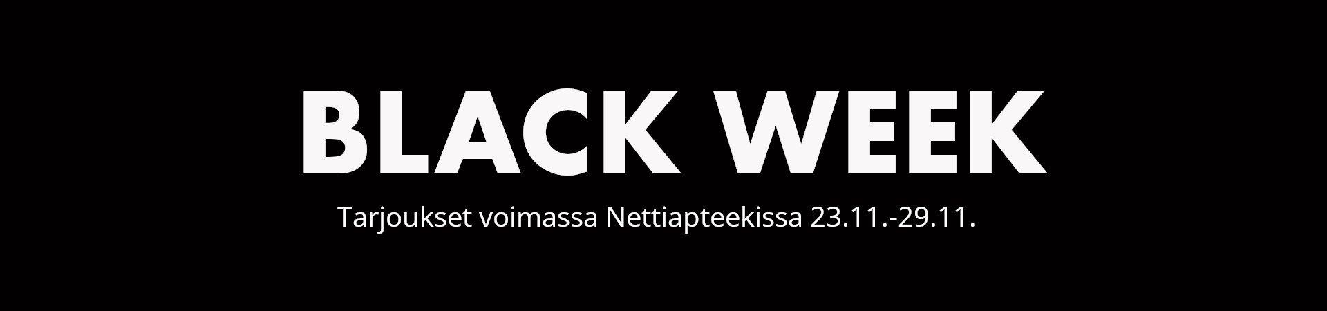 Black Week Nettiapteekissa