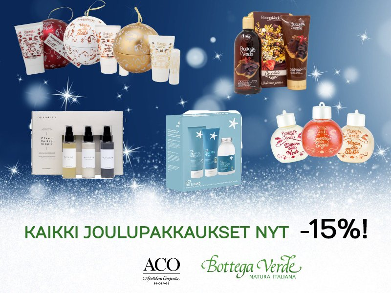 Nettiapteekki - Joulupakkaukset 2019 -15%