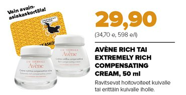 AVENE RICH COMPENSATING CREAM (50 ML)