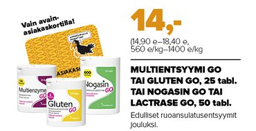 MULTIENZYME GO (25 KAPS)