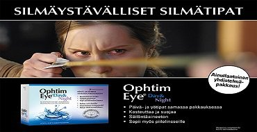 silmäystävälliset silmätipat kuiville silmille