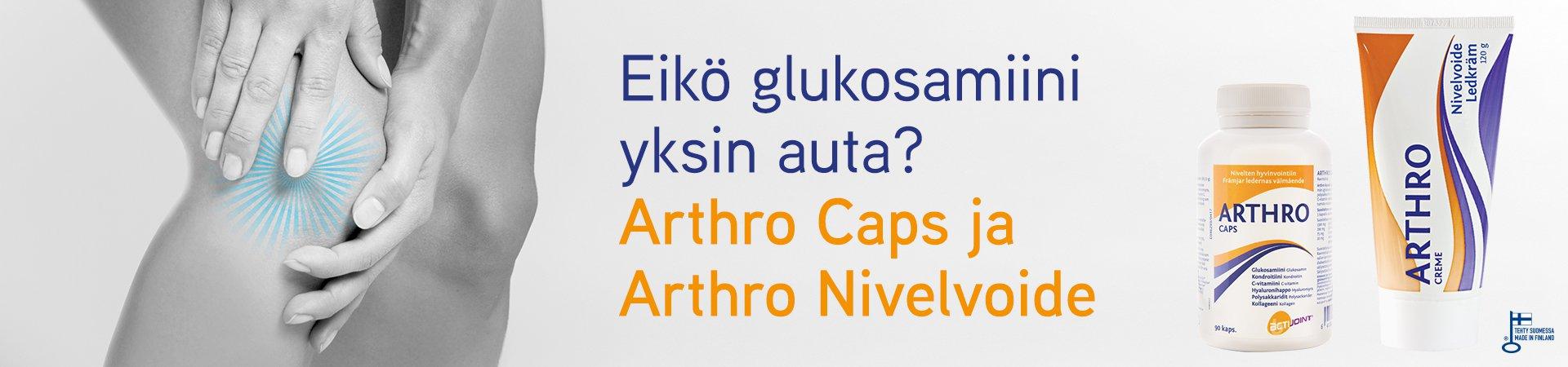 Arthro kapselit ja nivelvoide - nivelten hyvinvointiin