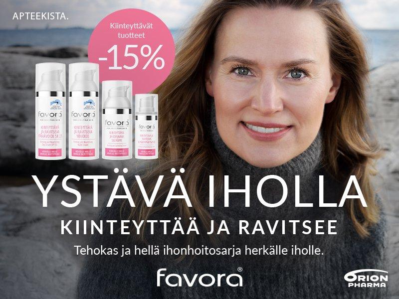 Favora-tuotteet tarjouksessa syyskuussa!