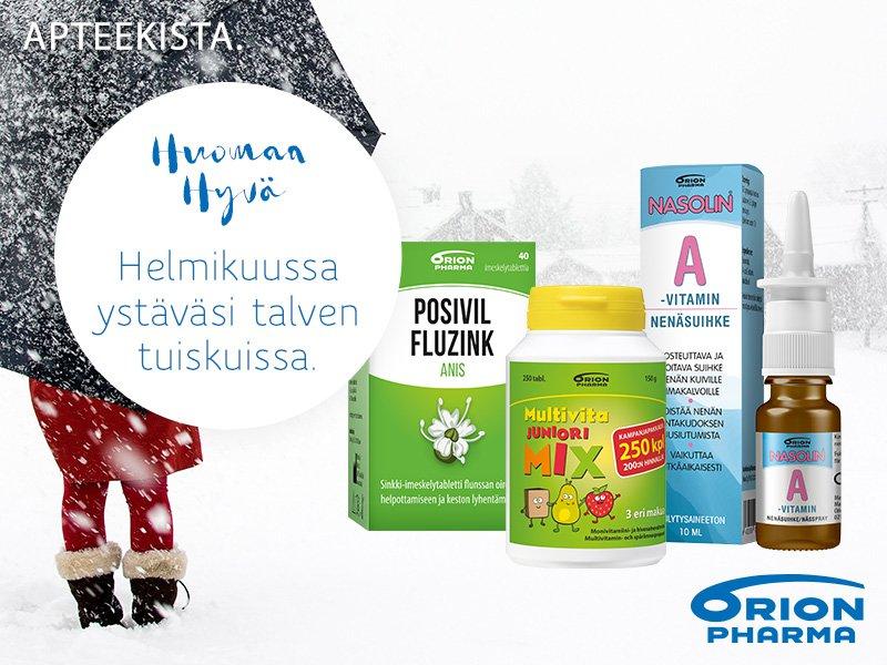 Helmikuussa huomaa hyvää tuotteet huippu hintaan apteekkisiverkossa.fi