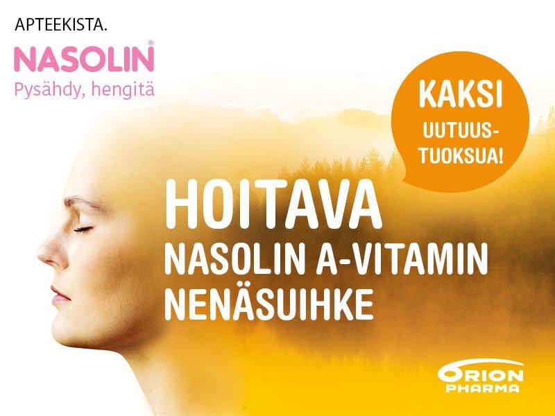 Nasolin A-Vitamin nenäsuihke